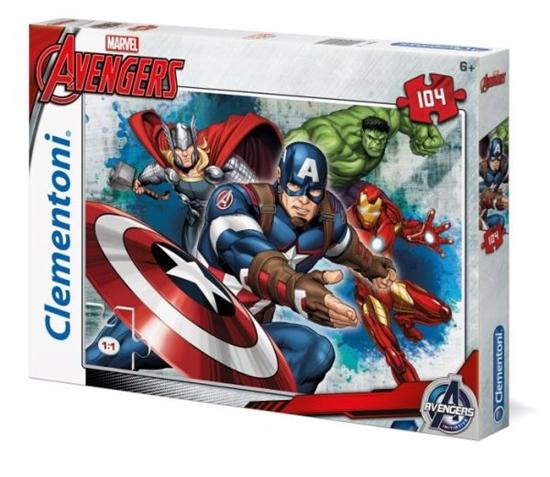Clementoni Puzzle 104el Avengers 27973 (27973 CLEMENTONI)
