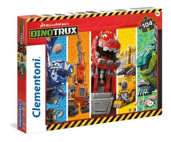 Clementoni Puzzle 104el Dinotrux 27971 (27971 CLEMENTONI)