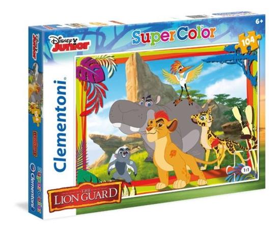 Clementoni Puzzle 104el Lion Guard 27969 (27969 CLEMENTONI)