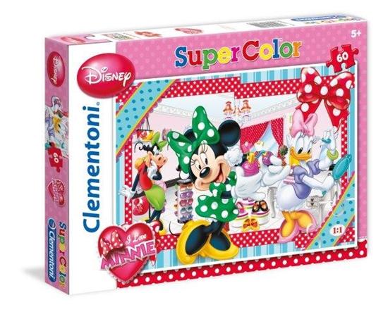 Clementoni Puzzle 60el I Love Minnie 26902 (26902 CLEMENTONI)