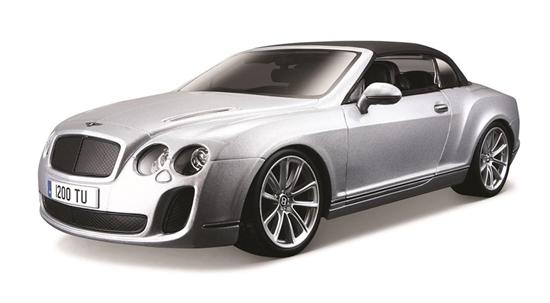Bentley Continental srebrny 1:18 BBURAGO (18-11037)