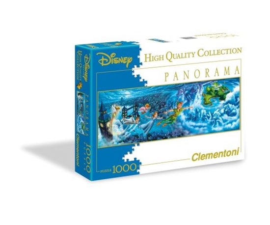 Clementoni Puzzle 1000 el Panorama Peter Pan 39286 (39286 CLEMENTONI)