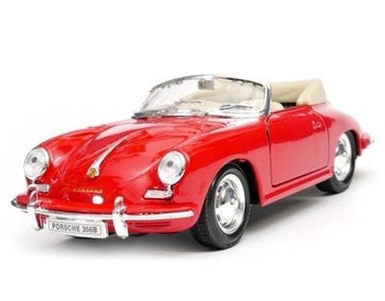 Samochód Porsche 356B, czerwony (GXP-700585)