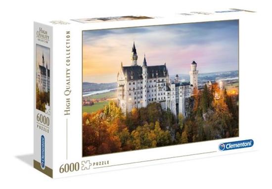 Clementoni Puzzle 6000el HQ Neuschwanstein 36522 (36522 CLEMENTONI)