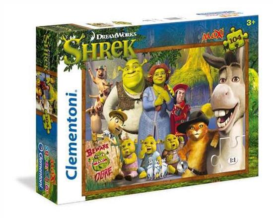 Clementoni Puzzle 104el Maxi Shrek 23696 (23696 CLEMENTONI)
