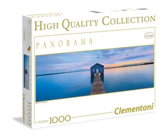 Clementoni Puzzle 1000el HQ Panorama Blue Cafe 39330 (39330 CLEMENTONI)