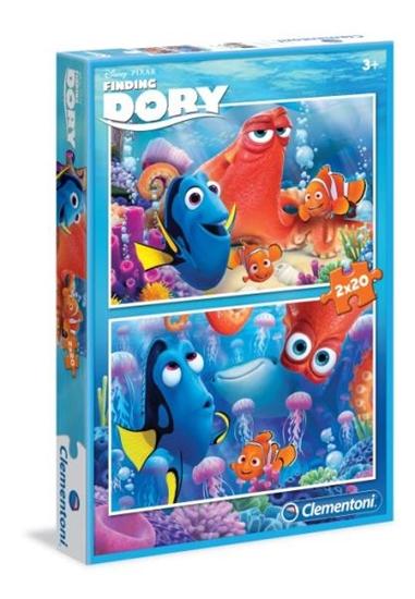 Clementoni Puzzle 2x20 el. SL Finding Dory 07024 (07024 CLEMENTONI)