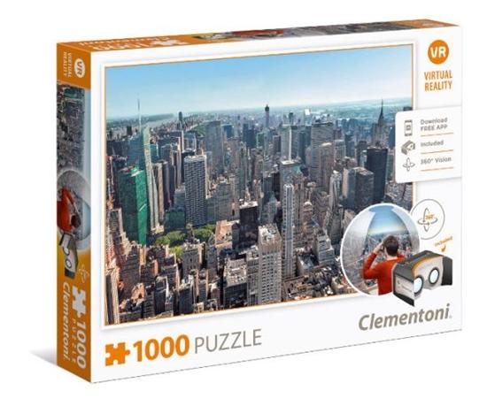 Clementoni Puzzle 1000el Virtual Reality: New York 39401 (39401 CLEMENTONI)
