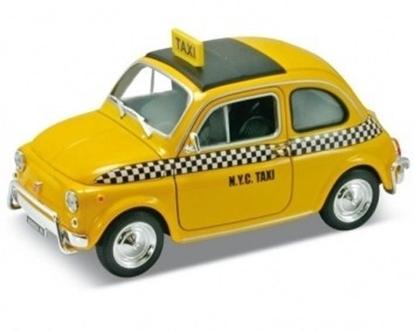 Fiat Nuova 500 Taxi, żółty (GXP-580805)