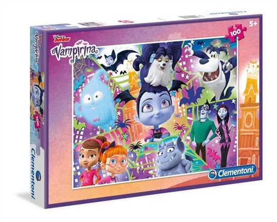 Clementoni Puzzle 100el Vampirina 07262 (07262 CLEMENTONI)