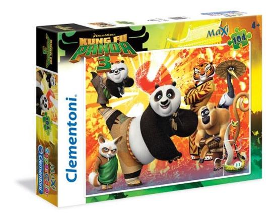 Clementoni 104 Maxi Kung Fu Panda (27959 CLEMENTONI)