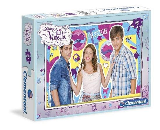 Clementoni Puzzle 60el Violetta (08404)