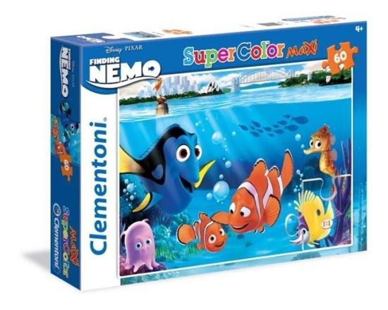 Clementoni Puzzle 60 el Maxi Finding Nemo 26409 (26409 CLEMENTONI)
