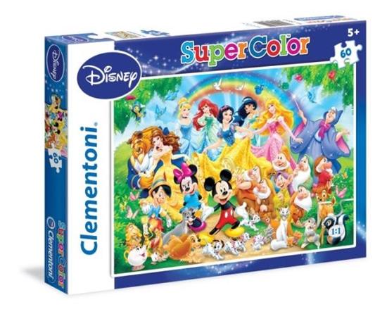 Clementoni Puzzle 60el  Disney Family 26952 (26952 CLEMENTONI)