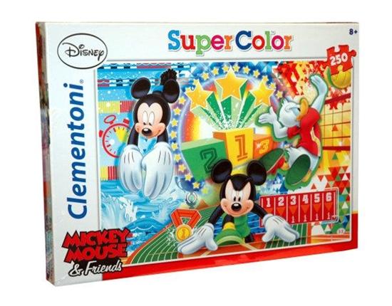 Clementoni Puzzle 250el Mickey Sport 29714 (29714 CLEMENTONI)