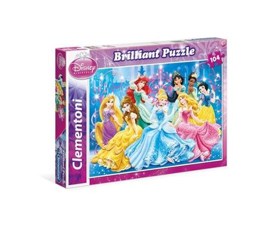 Clementoni Puzzle 104el brilliant Princess 20128 (20128 CLEMENTONI)