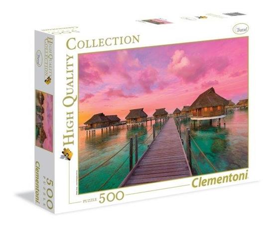 Clementoni Puzzle 500el Colorful Paradise 35016 (35016 CLEMENTONI)
