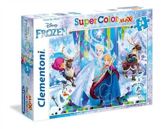 Clementoni Puzzle Maxi 24el Frozen 24496 (24496 CLEMENTONI)