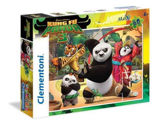 Clementoni Puzzle 60el Kung Fu Panda III 26580 (26580 CLEMENTONI)