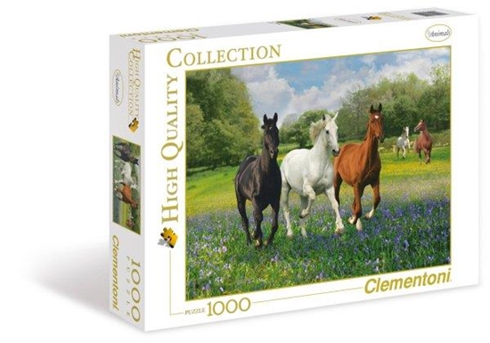 Clementoni Puzzle 1000el Horses  39255 (39255 CLEMENTONI)