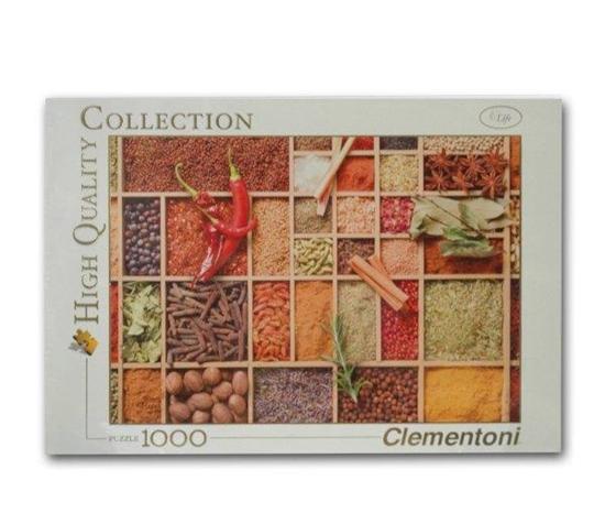Clementoni Puzzle 1000el Very spicy 39268 (39268 8005125392667)