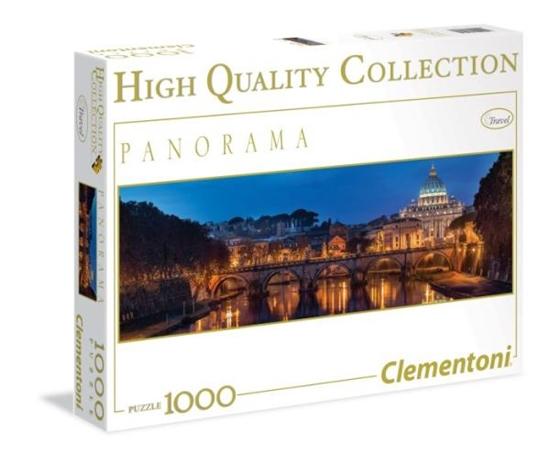 Clementoni Puzzle 1000el HQ Panorama  Rome 39343 (39343 CLEMENTONI)