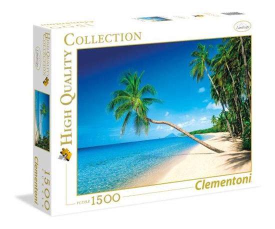 Clementoni Puzzle 1500 el HQ Caribbean Islands 31669 (31669 CLEMENTONI)