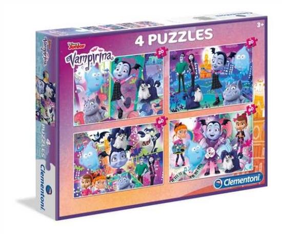Clementoni Puzzle 2x20+2x60el Vampirina 07617 (07617 CLEMENTONI)