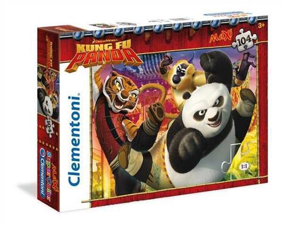 Clementoni Puzzle 104el Maxi Kung Fu Panda 23693 (23693 CLEMENTONI)