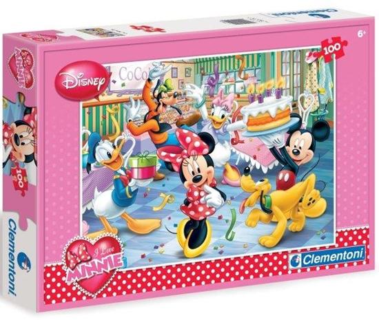 Clementoni Puzzle 100el Minnie Happy Birthday 07210 (07210 CLEMENTONI)
