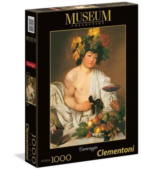 Clementoni Puzzle 1000el Museum  Caravaggio - Bacco 31445 (31445 CLEMENTONI)
