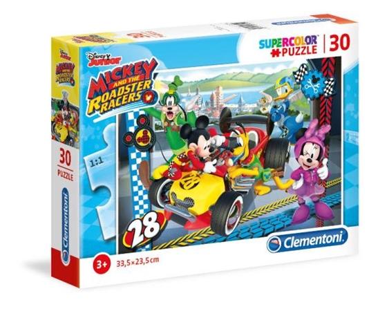 Clementoni Puzzle 30el Mickey Roadster racers 08514 p6, cena za 1szt. (08514 CLEMENTONI)