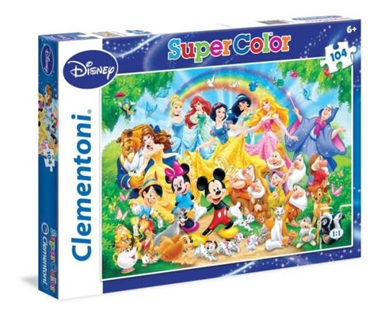 Clementoni Puzzle 104el  Disney Classic 27955 (27955 CLEMENTONI)