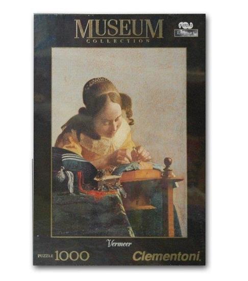 Clementoni Puzzle 1000el Museum Louvre 39265 (39265 CLEMENTONI)