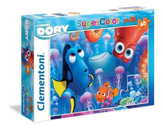Clementoni Puzzle Maxi 60 el. Finding Dory 26582 (26582 CLEMENTONI)