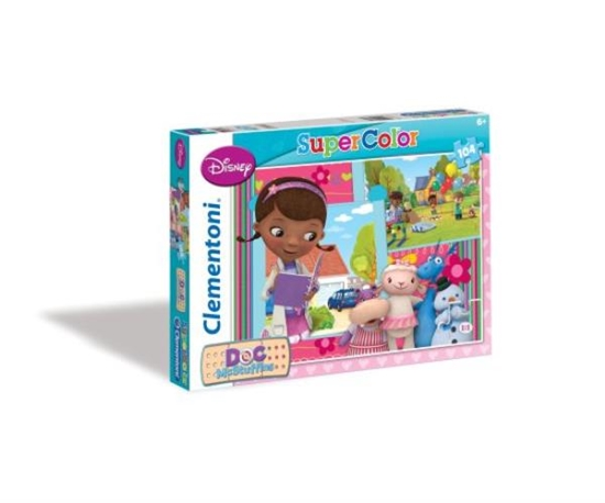 PROMO Clementoni Puzzle 104el Doc McStuffins 27877 (27877 CLEMENTONI)