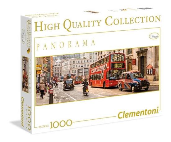 PROMO Clementoni Puzzle 1000el HQ Panorama London 39300 (39300 CLEMENTONI)