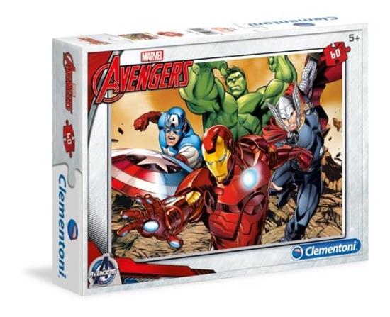 Clementoni Puzzle 60el. Avengers MARVEL 08415 (08415 CLEMENTONI)