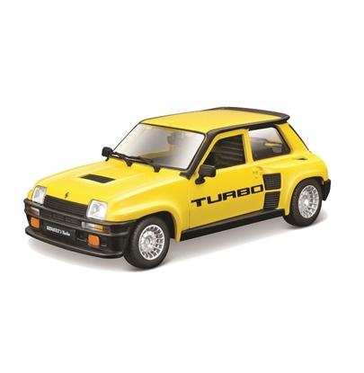 Bburago 1:24 Renault 5 Turbo żółte