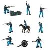 Safari Ltd 100715 żołnierze armii Unii  w dużej tubie