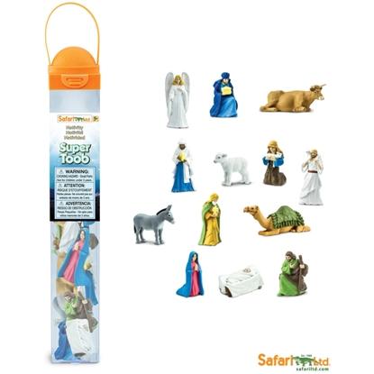 Safari 660504 Figurki do szopki Bożego Narodzenia - duża tuba