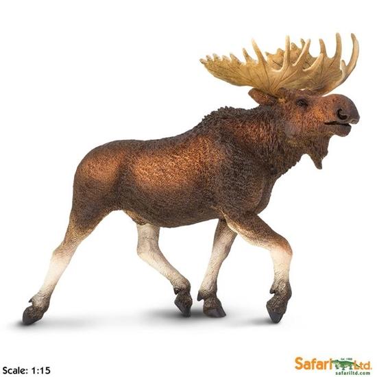 Safari Ltd 113289 Łoś   22,75 x 8,25 x 17,25 cm
