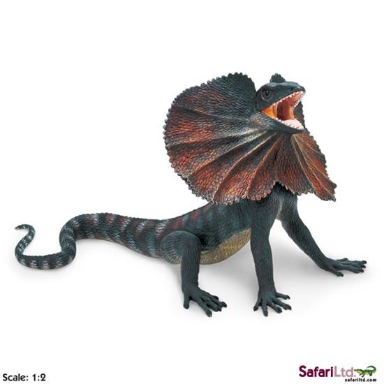 XL Safari Ltd 260529 Jaszczurka Agama kołnierzasta 29x16,5cm