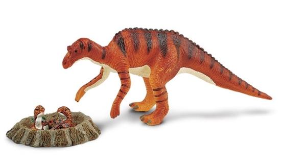 Safari Ltd 402701 Maiasaura z gniazdem 1:40 20,5x7,5cm Carnegie
