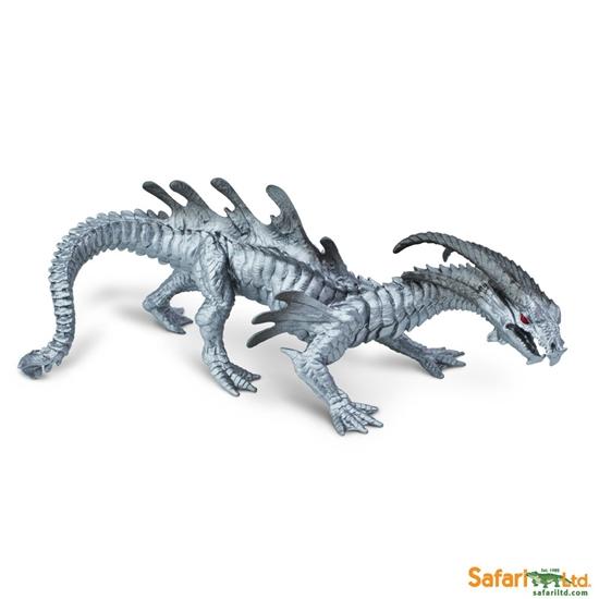 Safari Ltd 10126 Smok chromowy  23x12,5x9cm