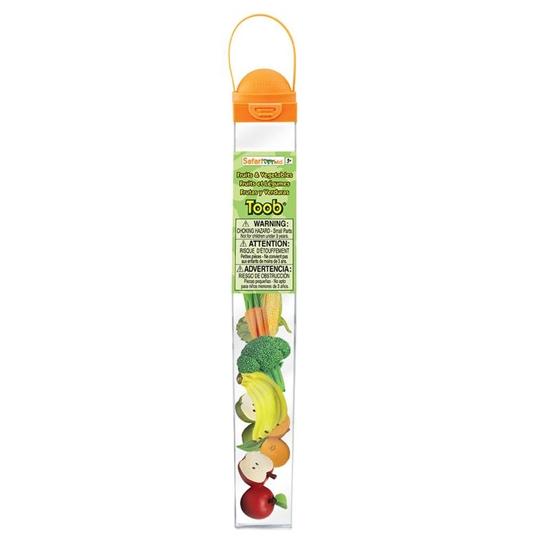 Safari Ltd 688304 warzywa i owoce w tubie