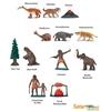 Safari Ltd 681004 Prehistoryczne zwierzęta +akc. w tubie