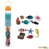 Safari Ltd 699104 Zwierzęta rafy koralowej 11el. w tubie