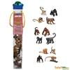 Safari Ltd 680604 Małpy i małpiatki w tubie