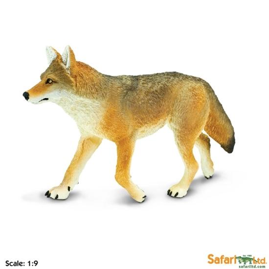 XL Safari Ltd 113089 Kojot  skala 1:9  16,5x9,5cm